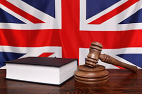 Union Jack and Gavel